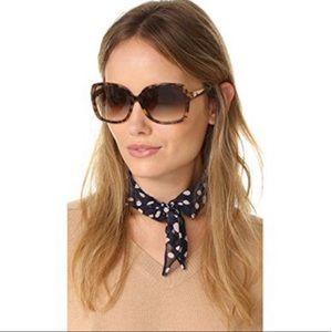 Kate Spade Brown Tortoise Darilynn Sunglasses